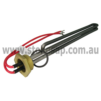 Hot Water Heater Element 1 Inch Bsp 2400w Stokes Parts