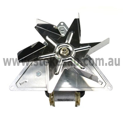 ST GEORGE OVEN FAN FORCED MOTOR WITH BLADE LONG SHAFT