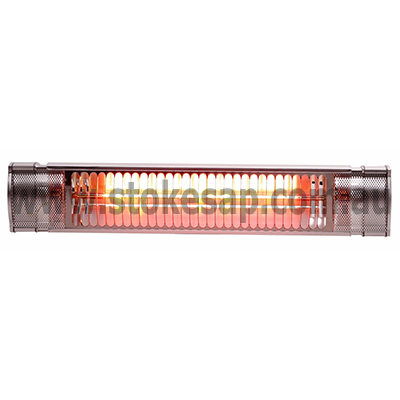 INFRA-RED PATIO HEATER SILVER