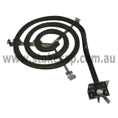 COOKTOP HOTPLATE ELEMENT MONOTUBE 180MM 1800W 2 WIRE ...