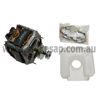 Kleenmaid speed queen washing machine motor and pulley 2 for Ge washer motor reset