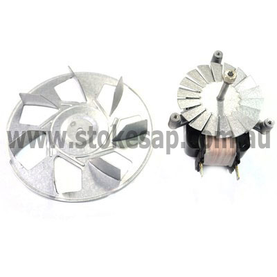 ST GEORGE OVEN FAN FORCED MOTOR AND BLADE LONG SHAFT TYPE