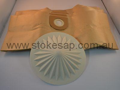 VAX VACUUM CLEANER DISP BAG VAX 2000 PACK OF 5