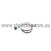 WASHING MACHINE INLET HOSE DIAMETRE 10MM X 1.3 M LONG. US X AUST THREAD. US THRE - Click for more info
