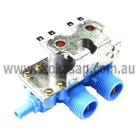 WASHING MACHINE UNIVERSAL DOUBLE INLET WATER VALVE SUITS AMERICAN MODELS - Click for more info