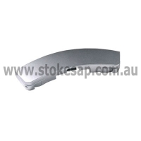WASHING MACHINE DOOR HANDLE SILVER SAMSUNG GENUINE - Click for more info