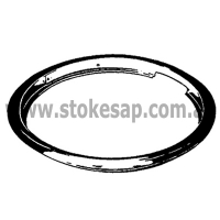 COOKTOP STOVE TRIM RING 8 INCH LARGE UNIVERSAL - Click for more info