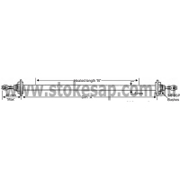 STRAIGHT LENGTH ELEMENT WITH BRASS BUSH 2500W 3215MM - Click for more info