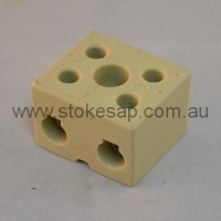CERAMIC BLOCK 2 WAY 30 AMP - Click for more info