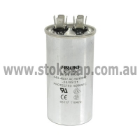 MOTOR RUN CAPACITOR 25UF 450V 2 PIN ROUND TYPE - Click for more info