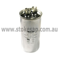 MOTOR RUN CAPACITOR 40 UF 450V 2 PIN ROUND TYPE - Click for more info
