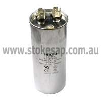 MOTOR RUN CAPACITOR 50 UF 450V 2 PIN ROUND TYPE - Click for more info