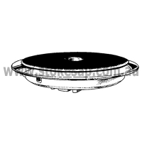 HOTPLATE 145MM STOKES SOLID 1500W - Click for more info