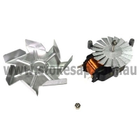 ST GEORGE KLEENMAID OVEN FAN MOTOR WITH BLADE AND NUT SHORT SHAFT - Click for more info