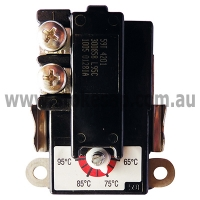 SURFACE MOUNT THERMOSTAT HOT WATER 65-95 DEGREES CELCIUS - Click for more info