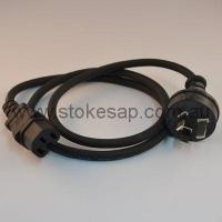 APPL.LEAD 1 MTR BLACK-EURO SOC - Click for more info