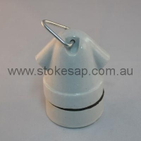 CERAMIC ES LAMP HOLDER - Click for more info