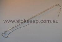 INFRA-RED QUARTZ LAMP 1000W CERAMIC ENDS - Click for more info