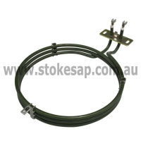 EUROPEAN OVEN FAN FORCED ELEMENT 2500W TRIPLE RING LONG NECK - Click for more info
