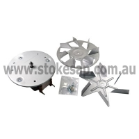 CHEF SIMPSON WESTINGHOUSE OVEN FAN FORCED MOTOR ASSEMBLY - Click for more info
