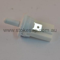 FRIDGE PUSH BUTTON DOOR SWITCH WHITE SPST - Click for more info