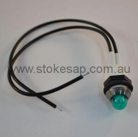 INDICATOR THREADER GREEN ROUND - Click for more info