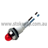 INDICATOR THREADED RED ROUND - Click for more info
