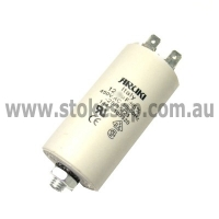 MOTOR RUN CAPACITOR 12.5 UF 450V 2 PIN ROUND TYPE - Click for more info