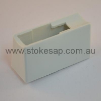 PEDESTAL HANDLE (WHITE) - Click for more info