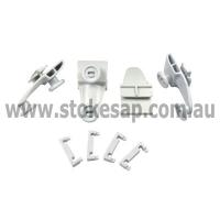 DISHWASHER UPPER BASKET WHEELS 4 PACK DISHLEX SIMPSON ELECTROLUX GENUINE - Click for more info