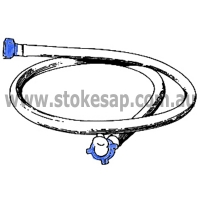 HOSE INLET BLUE NUT - Click for more info
