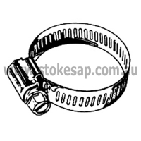 CLAMP HOSE 17/38mmS/STEELEMENT (PKT - Click for more info