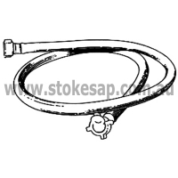 HOSE INLET GE KLEENMAID 2.0M 1X 9 - Click for more info