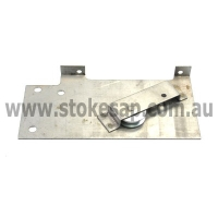ST GEORGE OVEN DOOR HINGE ROLLER PLATE ASSEMBLY - Click for more info