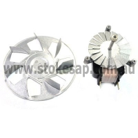 ST GEORGE OVEN FAN FORCED MOTOR AND BLADE LONG SHAFT TYPE - Click for more info