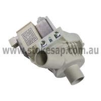 WASHING MACHINE UNIVERSAL DRAIN PUMP SUITS SIMPSON HOOVER WESTINGHOUSE KELVINATO - Click for more info