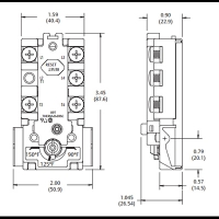 ELECTRIC HOT WATER THERMOSTAT 43-77 DEG C (FOR DUAL ELEMENT SYSTEMS)