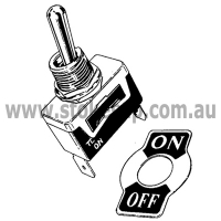 TOGGLE SWITCH 15AMP 240VOLT SP - Click for more info