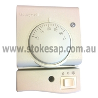 HONEYWELL ANALOGUE NON-PROGRAMMABLE THERMOSTAT ROOM S.P.D.T. - Click for more info
