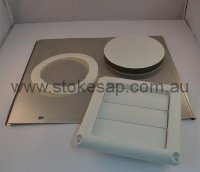 UNIVERSAL DRYER VENT KIT THROUGH THE WALL - Click for more info