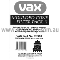 VAX VACUUM CLEANER MOULDED CONE PACK OF 2 - Click for more info