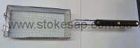 DEEP FRYER BASKETS 160 X 330 X 120MM H C/W EYELETS - Click for more info